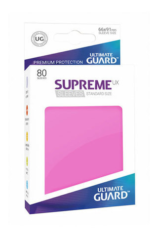 Supreme Sleeves Standard Size Pink (UX)