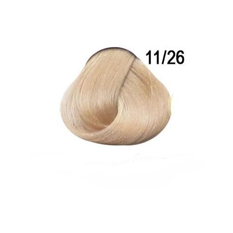 Перманентная крем-краска для волос Ollin 11/26 специальный блондин розовый
