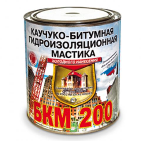 БКМ-200 Мастика каучуко-битумная