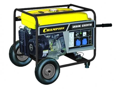 Бензогенератор Champion GG7200E 6 кВт с электростартером
