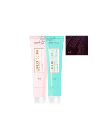 Expert Color Hair Color Cream 5/6 светлый шатен фиолетовый 100 мл