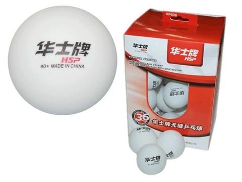 Шарики для настольного тенниса тренировочные HP. Размер. 40 мм. Материал: ABS пластик. Количество штук в упаковке - 36. ABS-606