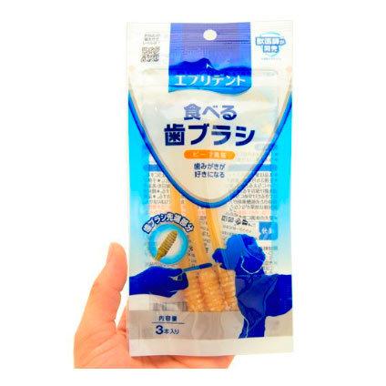 съедобная зубная щетка для собак