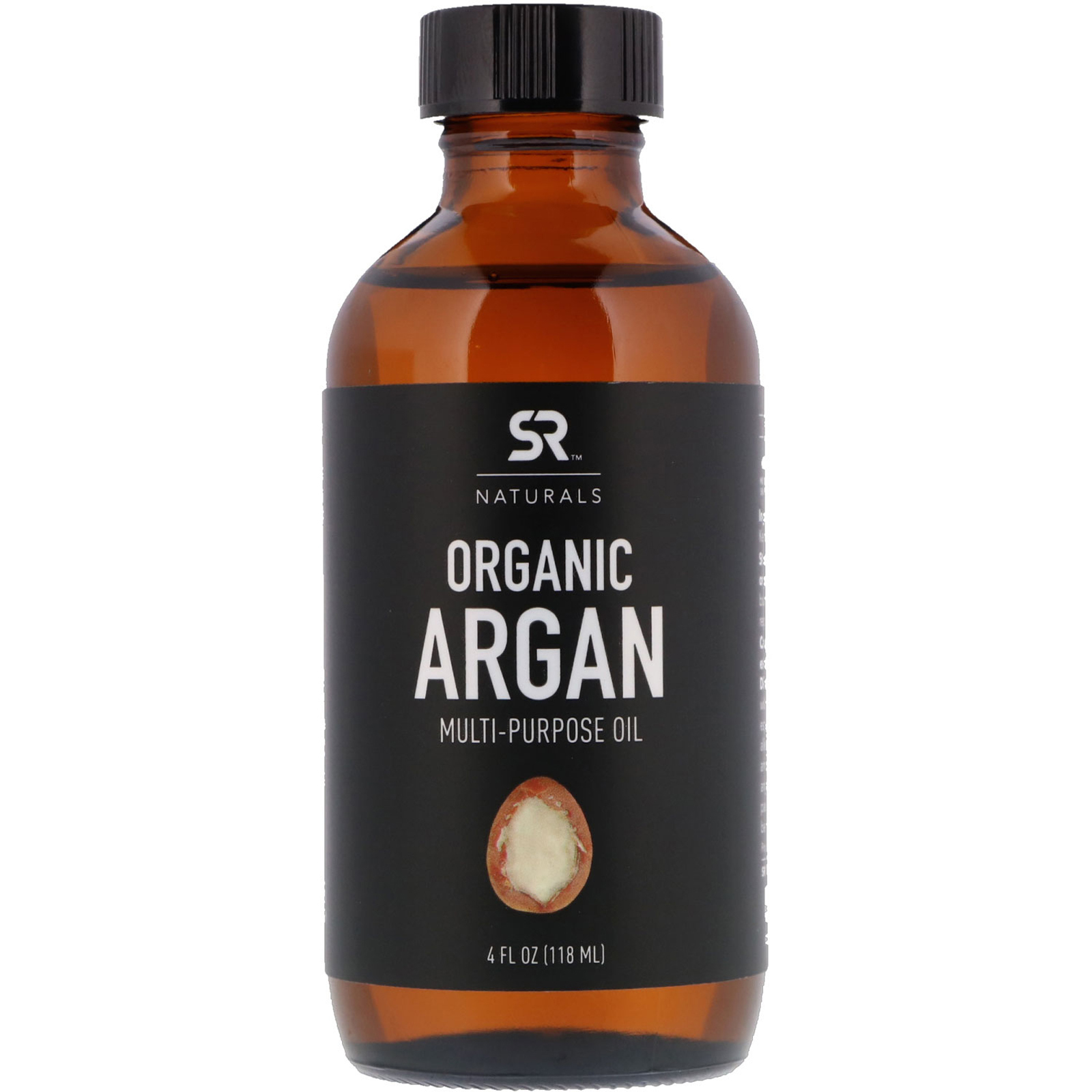 Органическое аргановое масло, Sports Research, 118 мл
