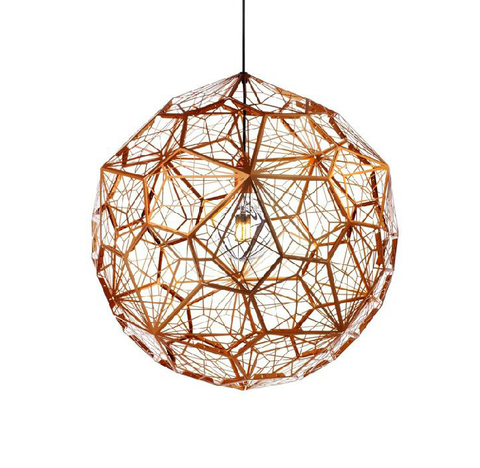 Подвесной светильник копия Etch Web by Tom Dixon (бронзовый)