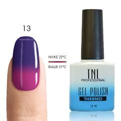 TNL, Термо гель-лак № 13 - фиолетовый/фуксия, 10 мл
