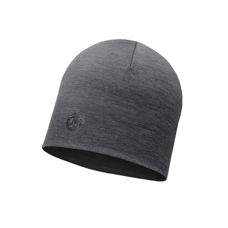 Шерстяные шапки Зимняя шерстяная шапка Buff Solid Grey 113028.937.10.00.jpg
