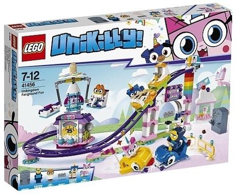 LEGO Unikitty: Весёлая ярмарка Королевства 41456 — Unikingdom Fairground Fun — Лего Юникитти