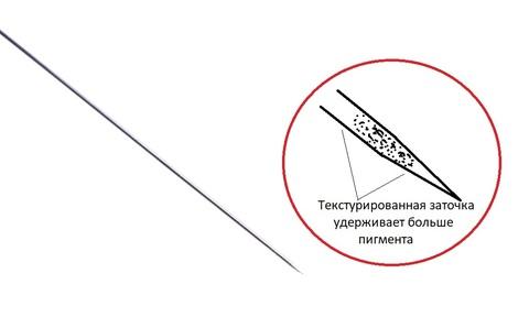 Текстурированная игла 3R (50шт)