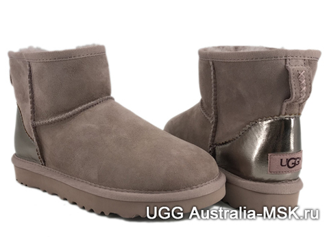 UGG Mini Classic II Metallic Smoky