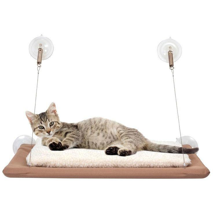 Товары для животных Лежанка подвесная для кошек Sunny seat (Теплое местечко) a656179d46b5e3ead6b95f433222951e.jpg