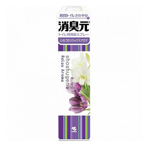 Освежитель-аэрозоль для туалета аромат нежных цветов Kobayashi Shoshugen Relax Aroma 280 мл