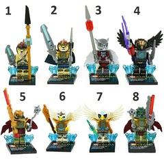 Minifigures Legends of Chima Blocks Building