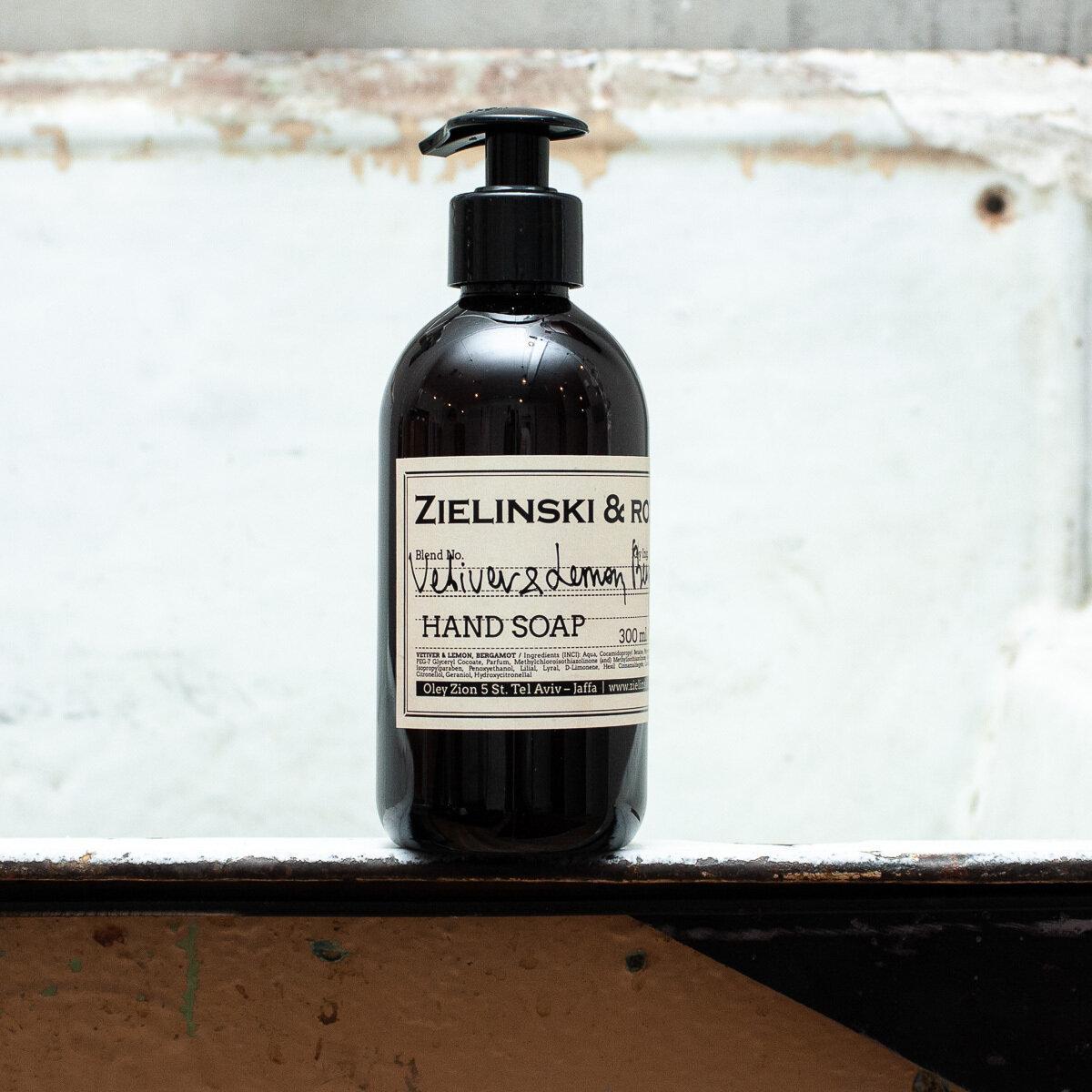 Жидкое мыло Vetiver Lemon Bergamot ZIELINSKI & ROZEN (300мл)