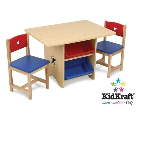 """Набор детской мебели """"Star""""(стол+2 стула+4 ящика)"""