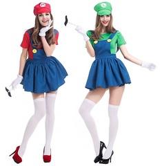 Супер Марио костюм женский
