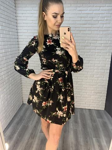 летнее платье на резинке nadya