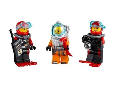 LEGO City: Набор Исследование морских глубин для начинающих 60091 — Deep Sea Starter — Лего Сити Город