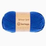 Пряжа Kartopu Melange Wool арт. 627 василек