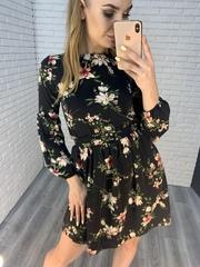 летнее платье на резинке недорого