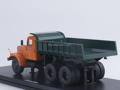 KRAZ-256B1 Tipper orange-green 1:43 Start Scale Models (SSM)