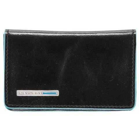 Чехол для визитных карт Piquadro Blue Square (PP1263B2/N) черный кожа