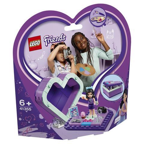 LEGO Friends: Шкатулка-сердечко Эммы 41355 — Emma's Heart Box — Лего Френдз Друзья Подружки