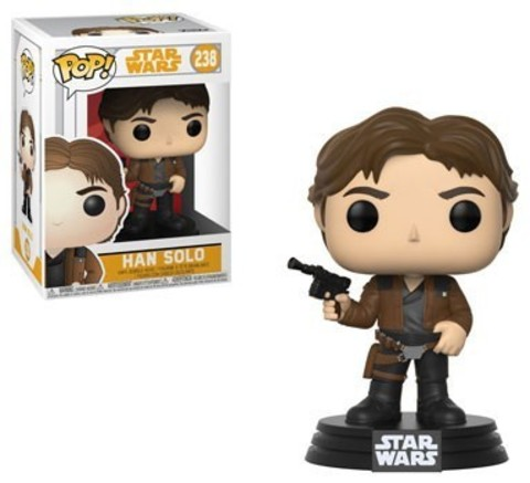 POP! Bobble: Star Wars: Solo: Han Solo || Хан Соло
