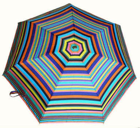 Зонт мини Guy de Jean 2002-1 à Raies blu
