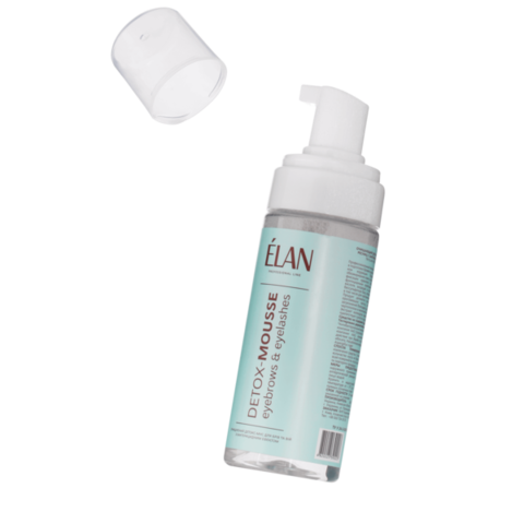 Elan, Очищающий детокс-мусс для бровей и ресниц