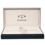 Шариковая ручка Parker Duofold K74 International Historical Colors Lapis Lazuli GT Mblack (1907186)
