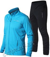 Утеплённый лыжный костюм Nordski Motion Breeze/Black мужской