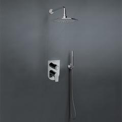 Встраиваемый смеситель для душа с душевым комплектом URBAN CHIC K2115021 на 2 выхода