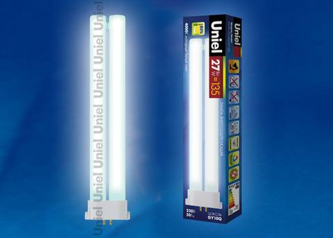 ESL-FPL-27/4000/GY10Q Лампа энергосберегающая. Картонная упаковка
