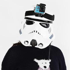 Крепление на голову для GoPro и SJ4000 Headstrap + QuickClip