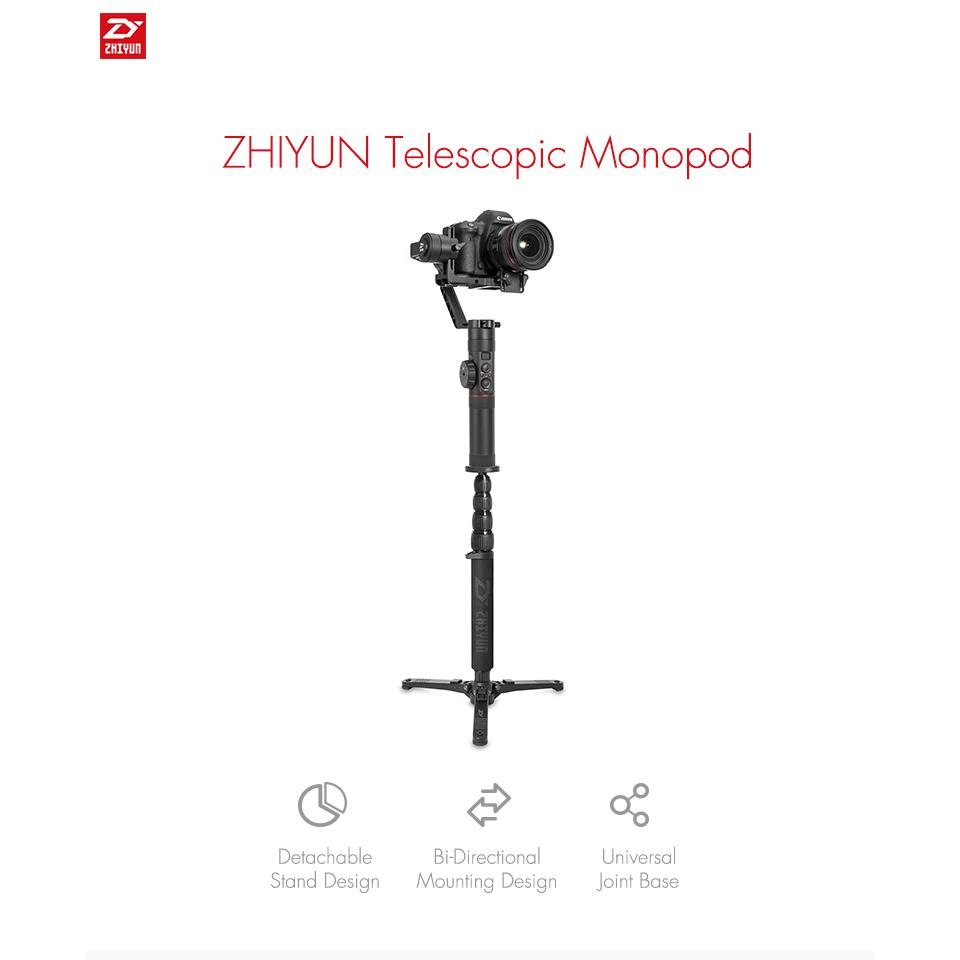 Аксессуары для стабилизаторов Телескопический монопод  Zhiyun Telescopic Monopod Crane 1.jpg