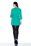 Блузка для беременных 01385 зеленый
