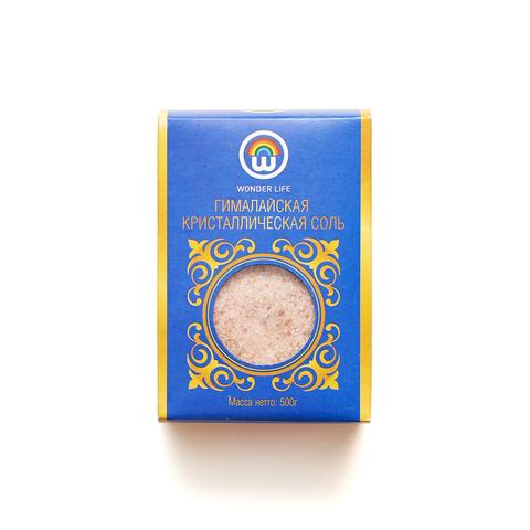 Соль гималайская розовая 0,5-1мм, 500 гр