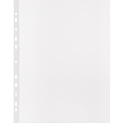 Файл-вкладыш Attache А4 30 мкм прозрачный гладкий 100 штук в упаковке