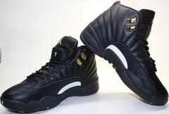 Кроссовки баскетбольные черного цвета air jordan