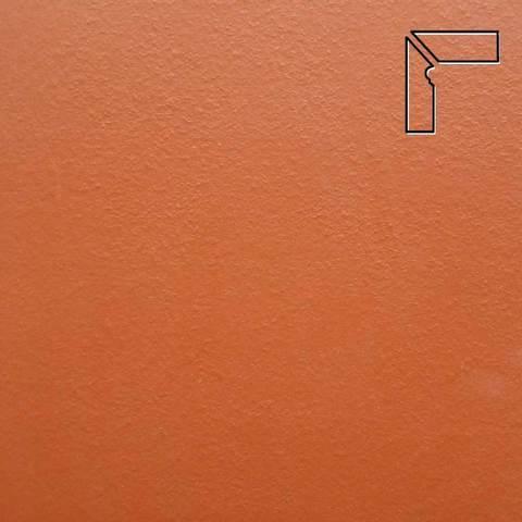 Ceramika Paradyz - Natural Rosa Duro, 300x81x11, артикул 43 - Цоколь левый структурный 2-х элементный