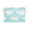 Корзина текстильная для хранения Animals Blue
