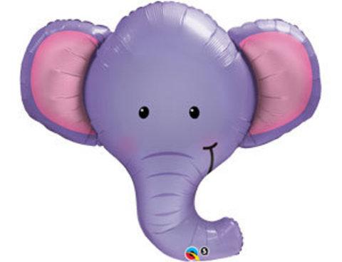 Фольгированный шар Слоненок голова
