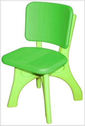 """Детский пластиковый стул """"Дейзи"""", зеленый"""