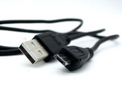 Кабель USB A - Micro USB 0,8 м