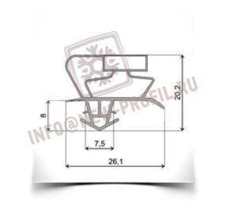 Уплотнитель 1200*520 мм для холодильника  Snaige FR-275 1101А (холодильная камера) Профиль 017