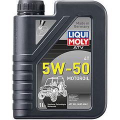 20737 LiquiMoly НС-синт. мот.масло д/4-т.мотоц. ATV 4T Motoroil 5W-50 SN MA2 (1л)