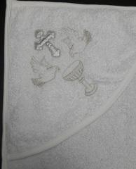 Полотенце Чаша (серебро)