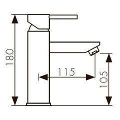 Сенсорный смеситель KAISER Sensor 38211 для раковины схема