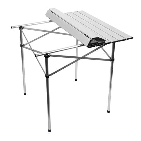 Стол складной  70x70 см алюминиевый, в чехле